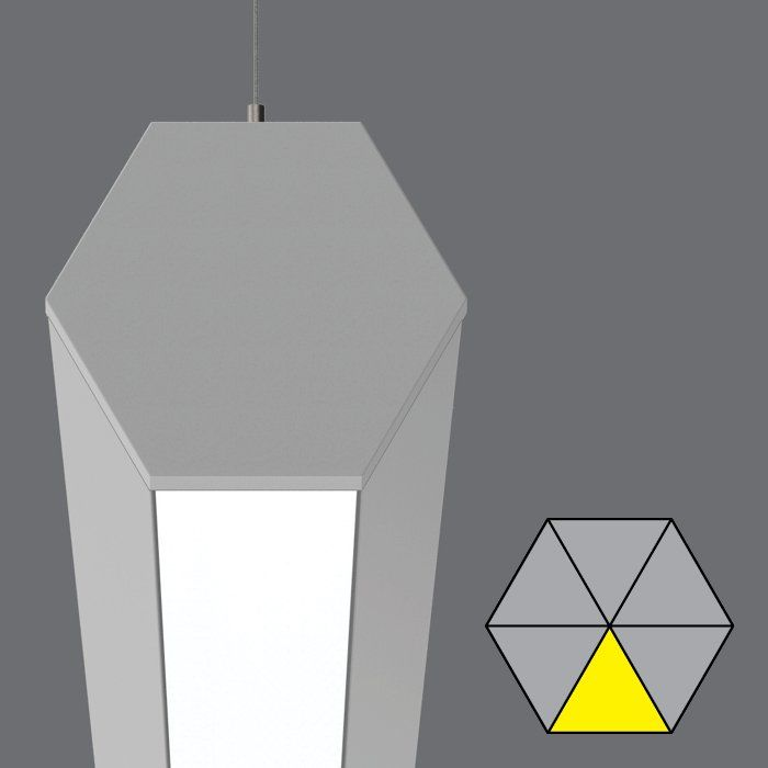 HEX pendant with 1 direct cell