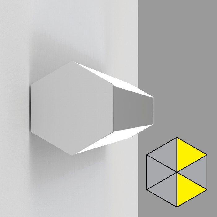HEX wall with 2 cells asymmetric A