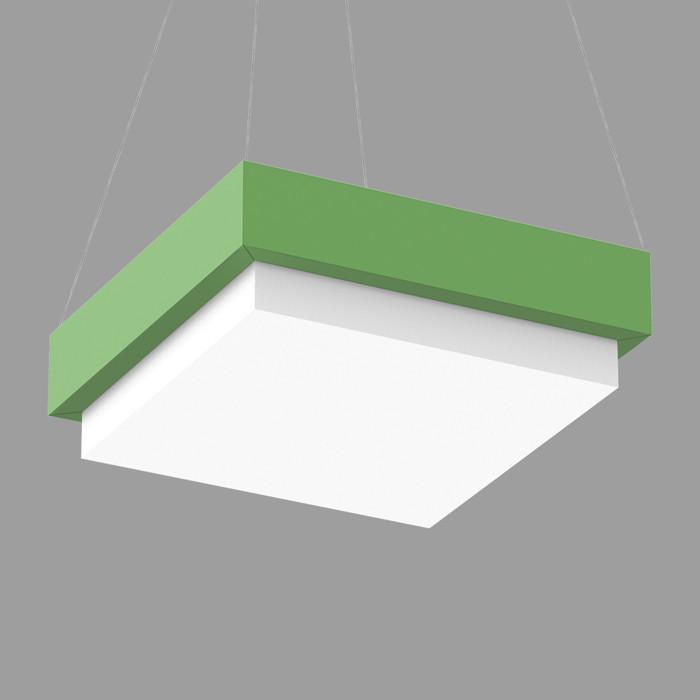 Pop Color square 22 pendant direct 3D