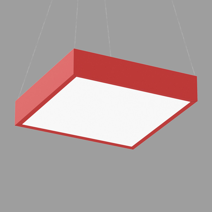 Pop Color square 22 pendant direct flush