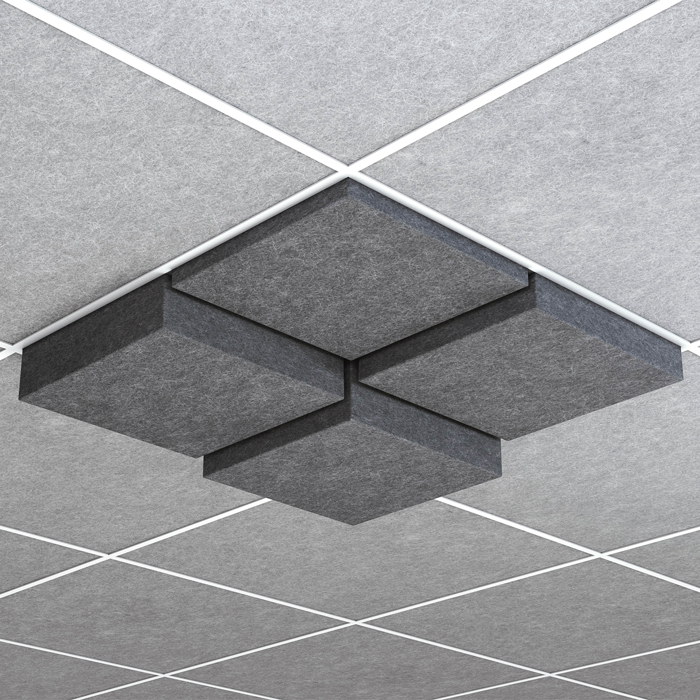 Pop Recessed Square Acoustix Blank
