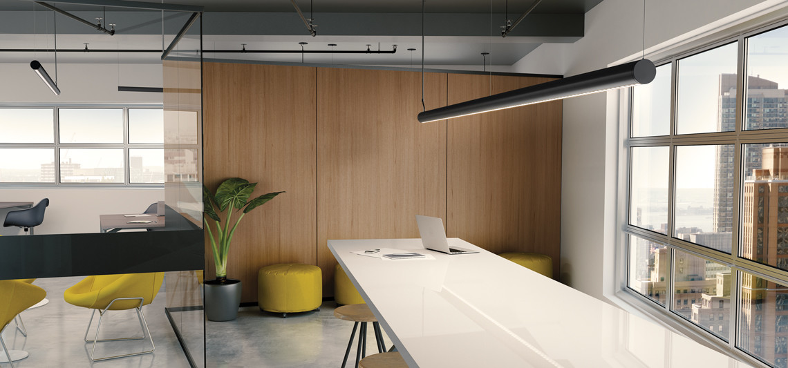A task luminaire that's easy on your eyes